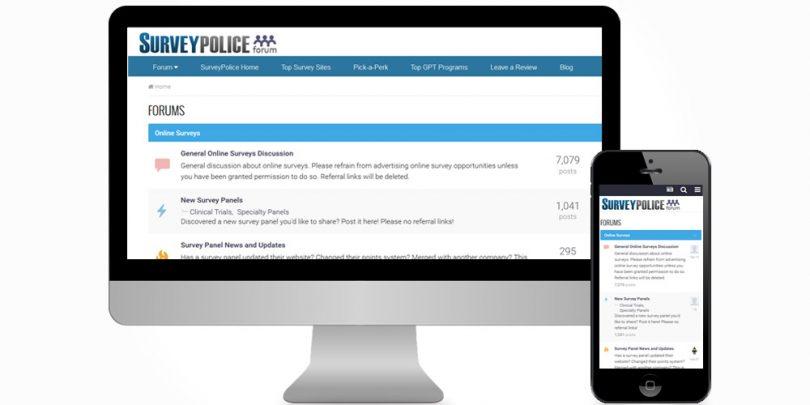 New SurveyPolice Forum