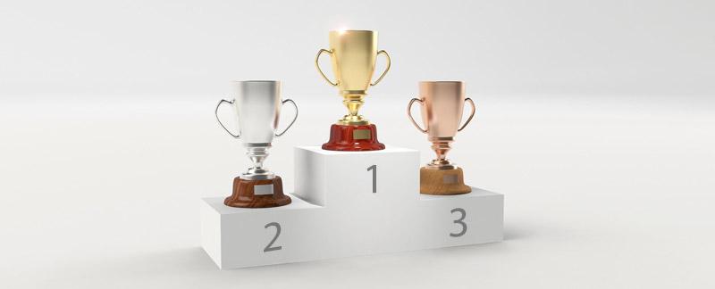 Contest trophies