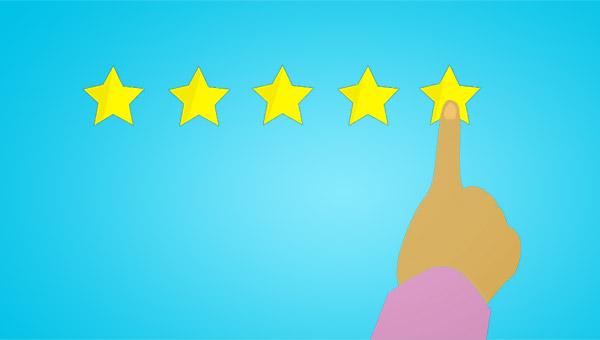 Choosing 5 stars