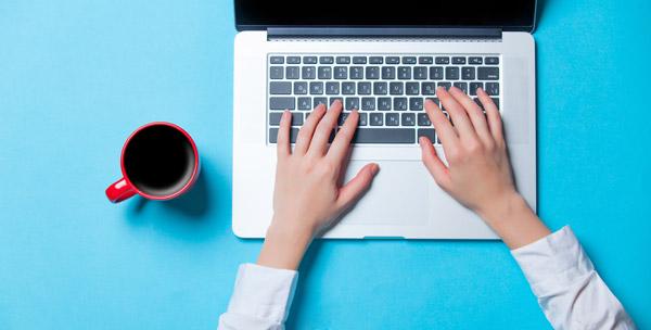 Registering at computer