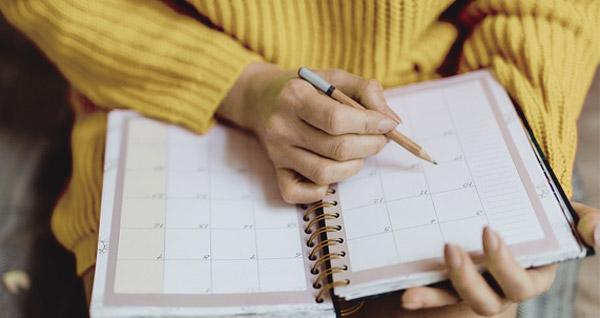 Calendar diary