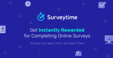 SurveyTime website