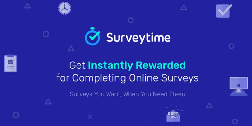 SurveyTime website