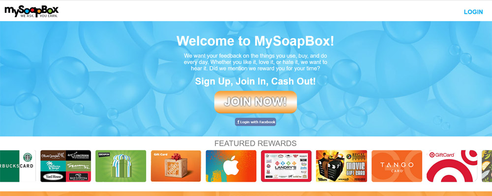 MySoapBox website