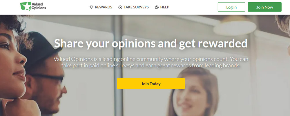 Valued Opinions website
