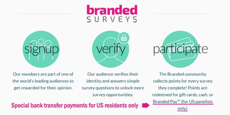 Branded Surveys Branded Pay
