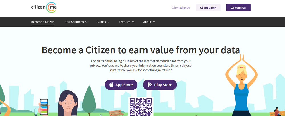 Citizenme website