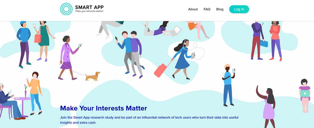 Smart App website
