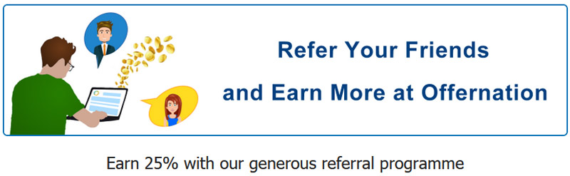 Offernation referral program