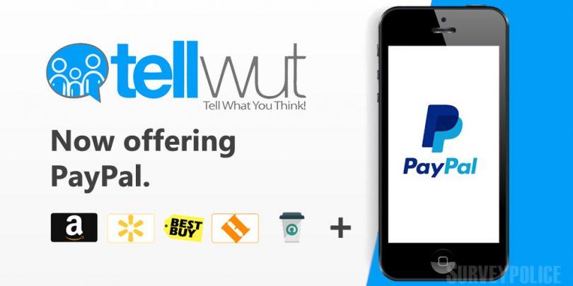 Tellwut PayPal option