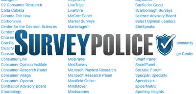 SurveyPolice panels