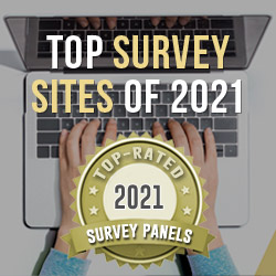 top survey sites of 2021
