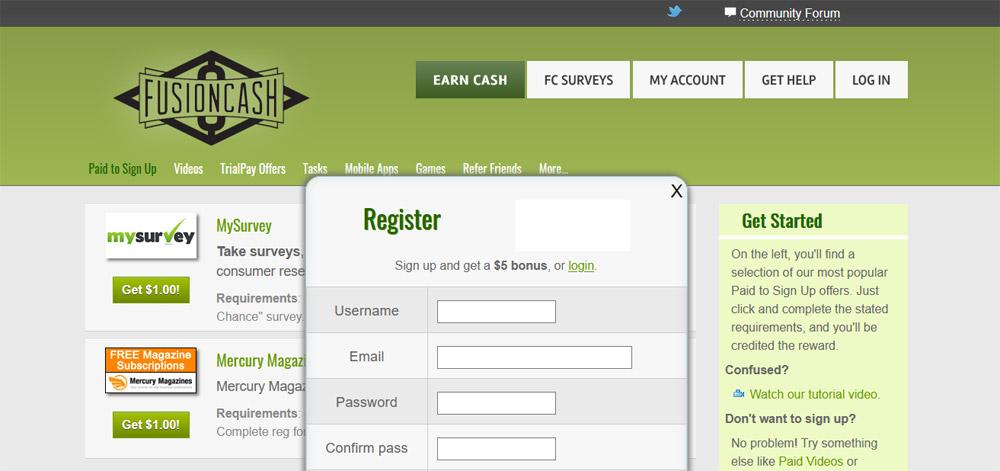 fusioncash website