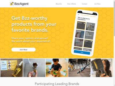 BzzAgent website screenshot