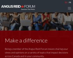 Angus Reid Forum