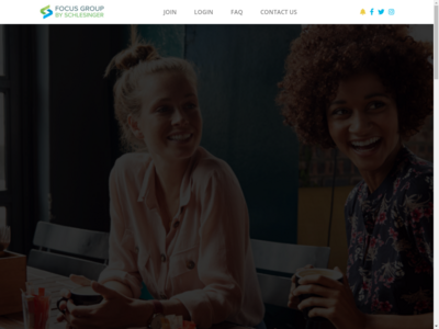 FocusGroup.com website screenshot