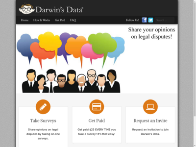 Darwin's Data Member Reviews – Page 1 – SurveyPolice
