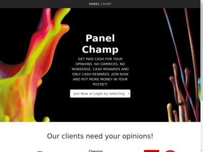 Panel Champ website