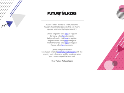 Future Talkers website screenshot