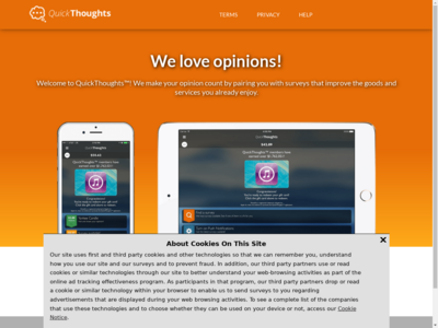 quickthoughts website