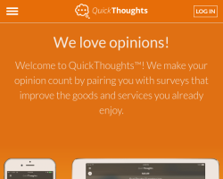 Quickthoughts website