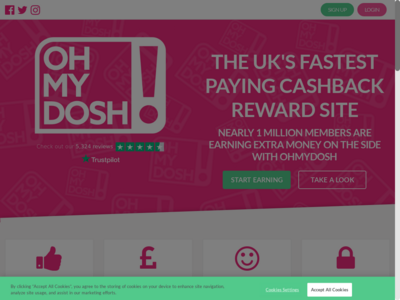OhMyDosh! website screenshot