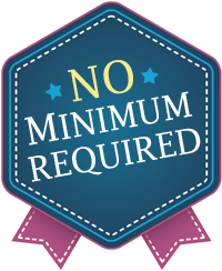 no minimum required badge