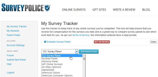 Your Surveys Log Out